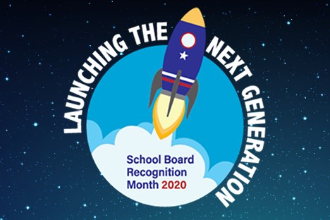 school board appreciation month invite