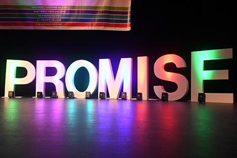 alamo promise pep rally