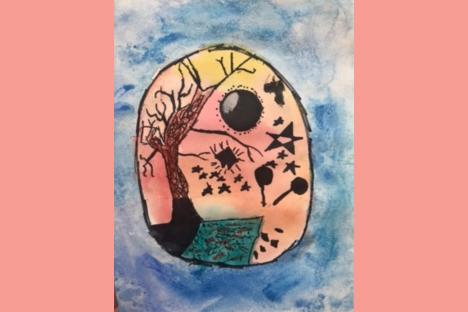 Bonham Art Contest Winner