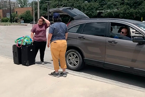 SAISD Foundation Luggage Drive