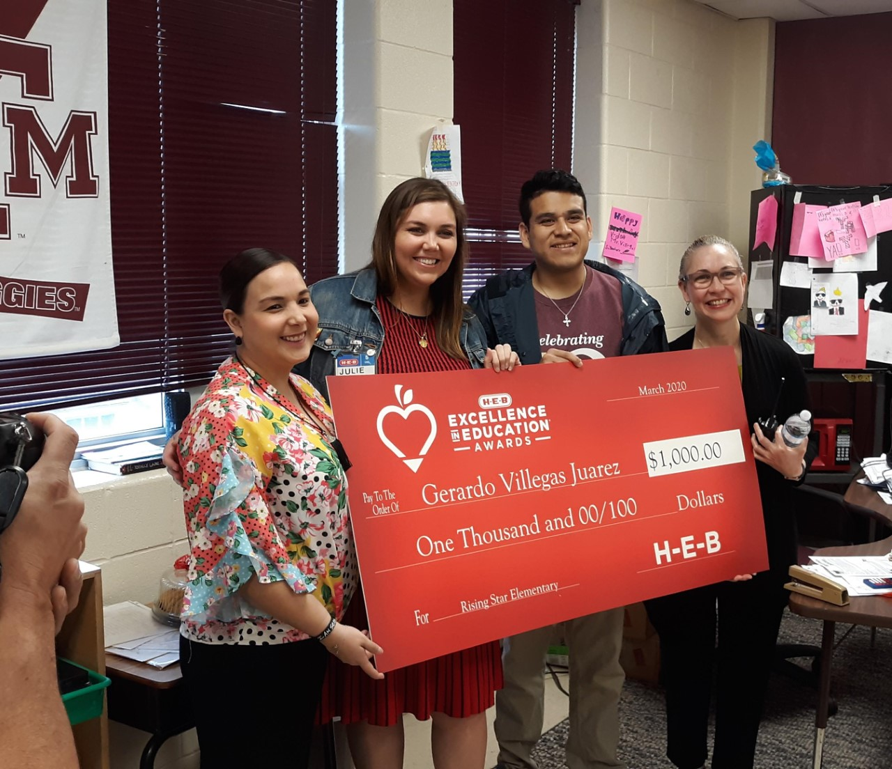 HEB Excellence in Education