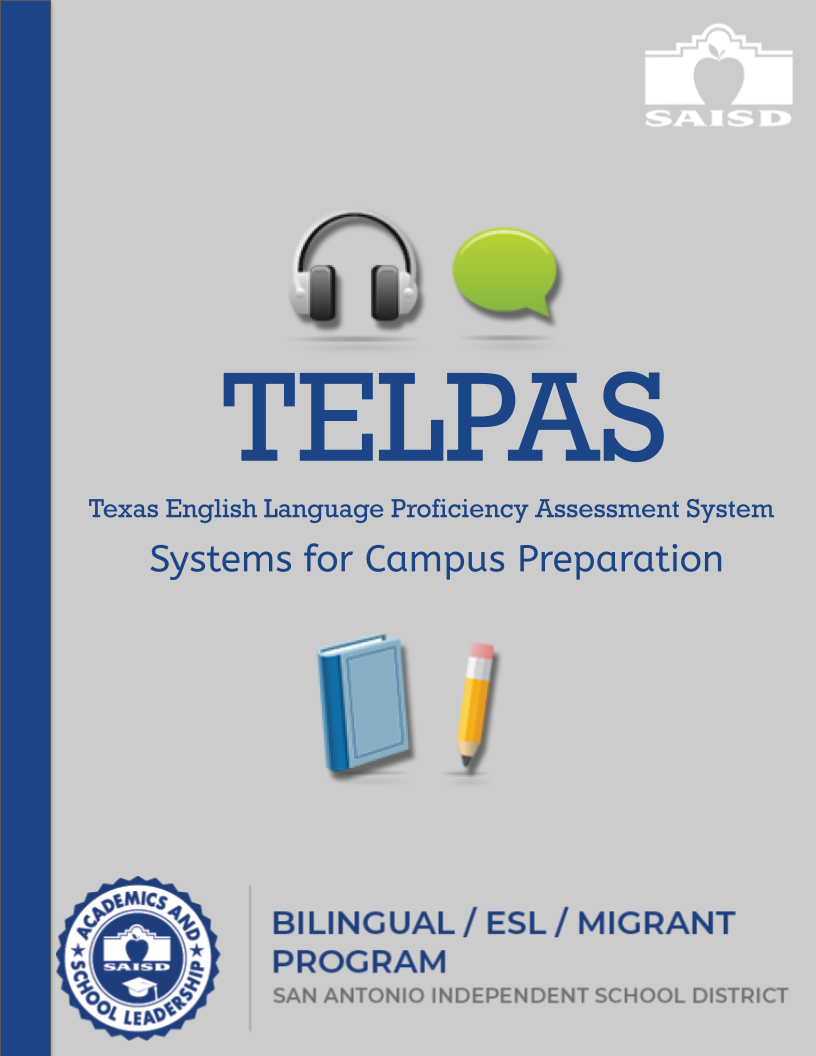 Preparing for TELPAS, systems for campus preparation