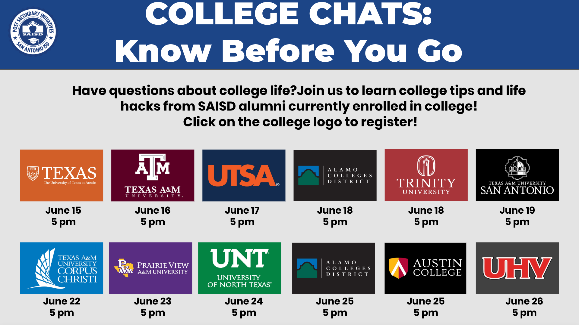 june college chats