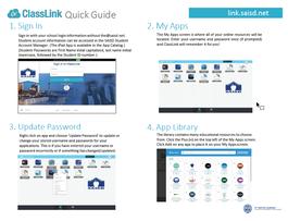 ClassLink Quick Guide