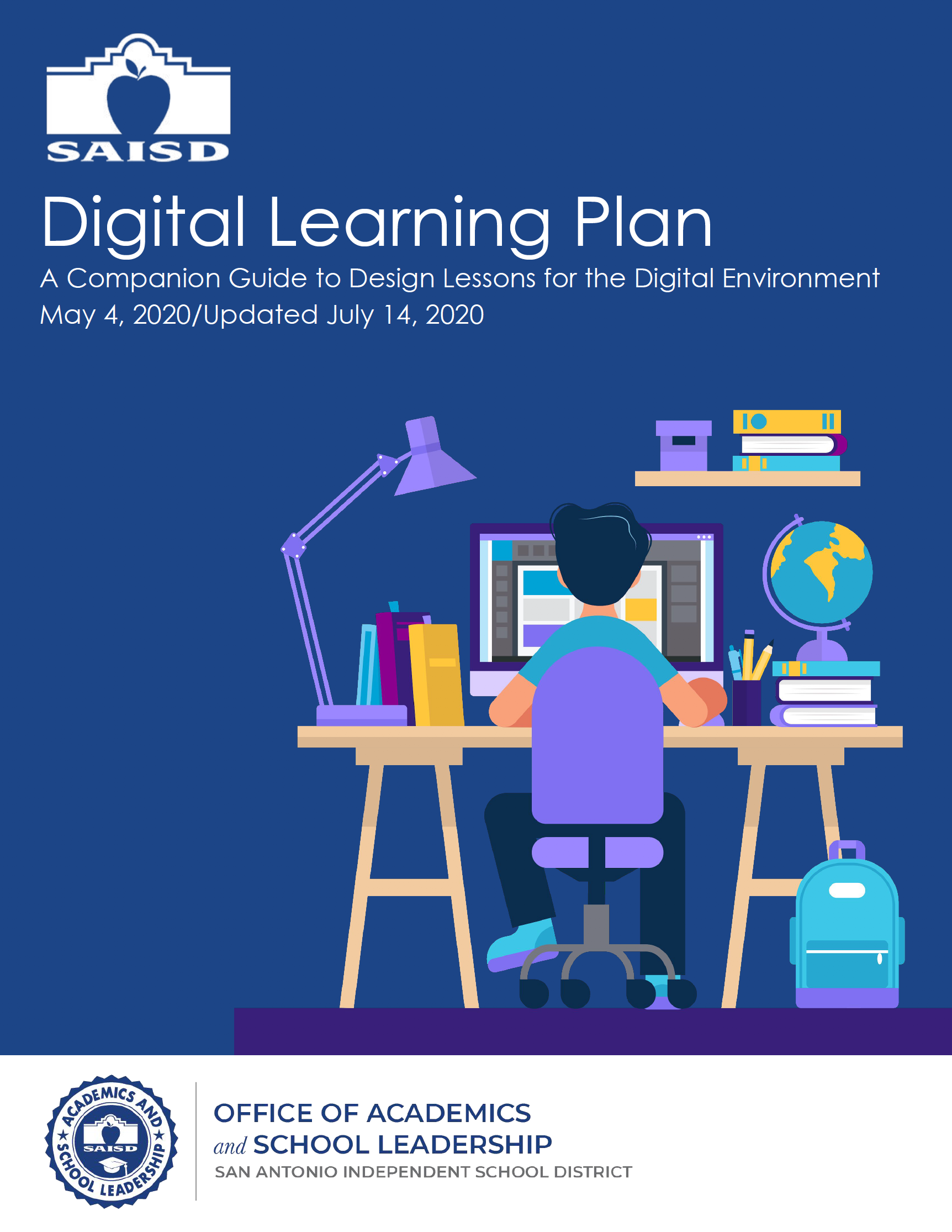 SAISD Digital Learning Plan